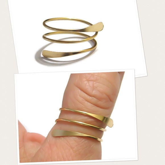new england jewelry designs Jewelry - Spiral thumb ring