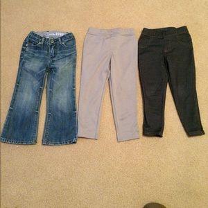 Toddler 2T Jeans, Legging, Skinny Jeans