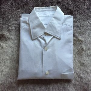 Ermenegildo Zegna White Dress Shirt
