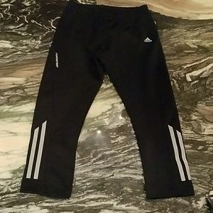 Adidas Climalite Black Capri Joggers