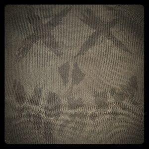 Suicide Squad Distressed Sweater sz L