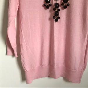J. Crew Sweaters - J.Crew Light Pink Tippi Crewneck Sweater Sz. Small