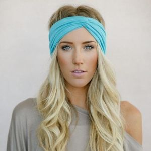 3 Multicolored Three Bird Nest Headbands Headwraps
