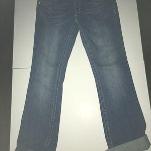 Like New Miss Me Boot Cut Embellished Jeans SZ 29