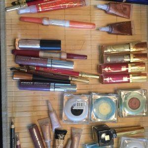 Huge lot high end makeup bundle