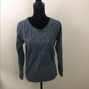 J.Crew   Sweater   Zipper Detail   Gray