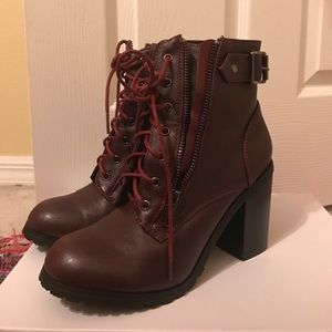 Wine Red Boots
