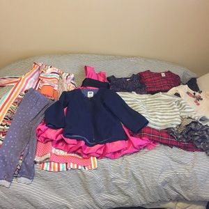 Girls 5-6t designer clothes persnickety peek