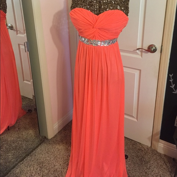 Jcpenney Dresses Coral Formal Dress Poshmark