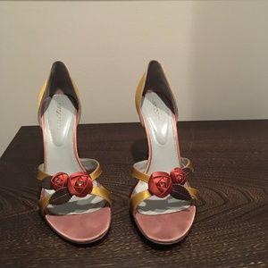 Sergio Rossi open toe high heels