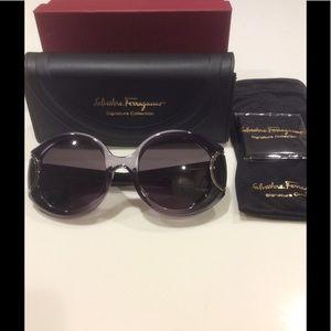Salvatore Ferragamo Signature Sunglasses