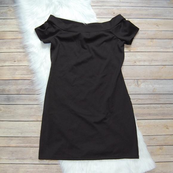 Zara trf kleid schwarz