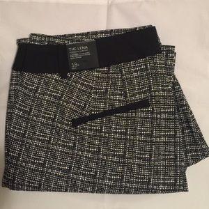 Lena Grid Print Boot Pants