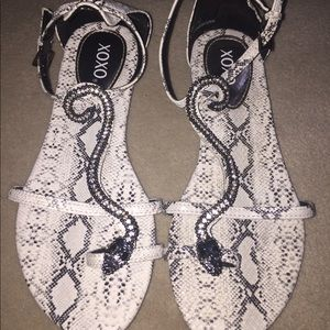 Brand New!!! Snakeprint Shoes
