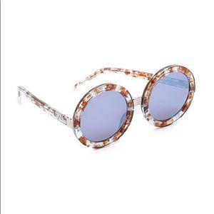 Wildfox Malibu Deluxe Sunglasses Coconut/Denim