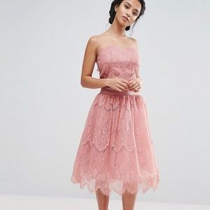 ASOS Chi Chi London Limited Edition Lace Skirt