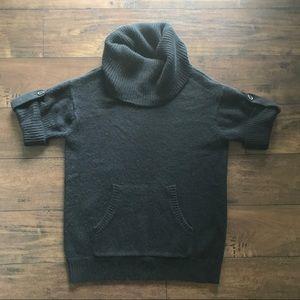 BCBG Max Azria Black Turtleneck Sweater