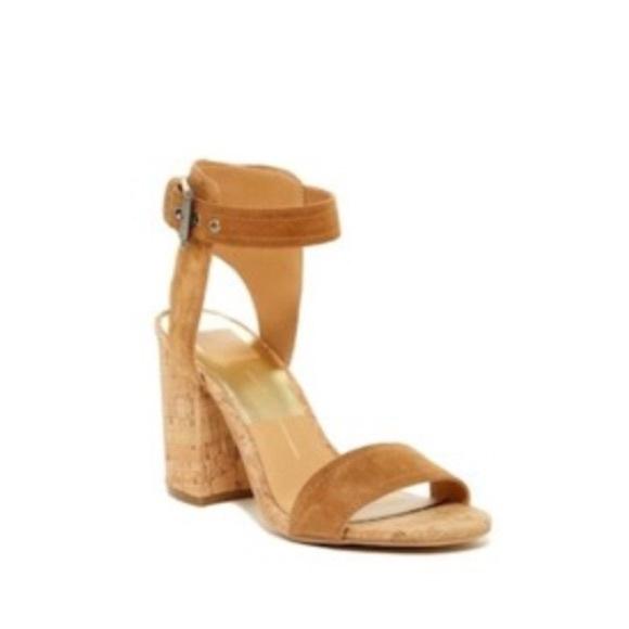 c65384285a5 Dolce Vita Shoes - Dolce Vita Cally Block Heel Suede Sandal