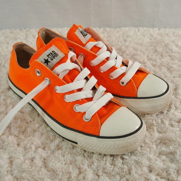 20d8b9ffc940 Converse Shoes - Orange Converse (Womens Size 7) (Mens Size 5)