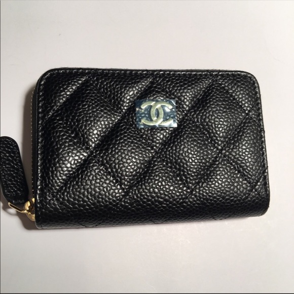 212a92bebd6b7c CHANEL Bags | Classic Zip Around Card Holder Wallet | Poshmark