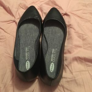 Dr. Scholl's Memory Foam Cool Fit Black Flats
