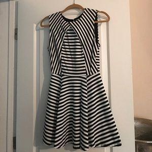Dresses & Skirts - Black and white striped dress brand new