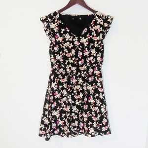 TULLE Floral Mini Dress size S