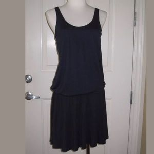 NWT Vince Drop Waist Tennis Dress, Navy Blue