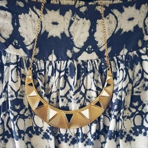 Jewelry - Gold / White / Black Necklace & Earrings Set NWT