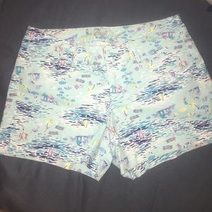 Old Navy printed pixie shorts