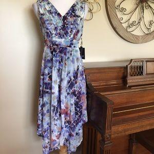NWT Simply Vera Wang XL Petit Handkerchief Dress