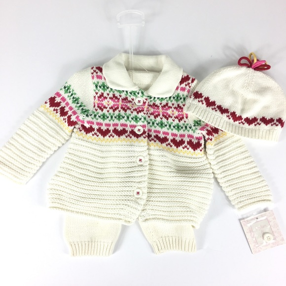 0a8c1c9e6 dylan & abby Matching Sets   Dylan Abby Sweater 3 Piece Set 36 ...