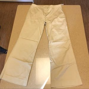 Gap khakis, 8 ankle, wide leg, NWT
