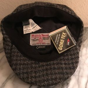 9eb8587c2051f LL Bean Accessories - LL Bean Harris Tweed Gore-Tex Cap