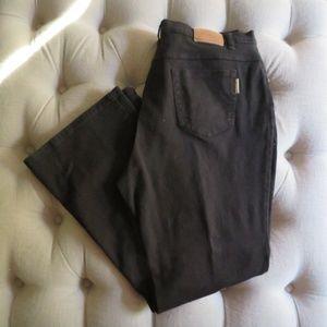 Coldwater Creek Bootcut Black Jeans