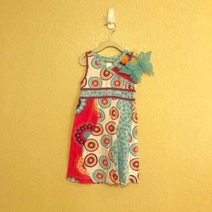 EUC Little Girls Summer Dress