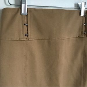 Express Skirts - Express Khaki High Waisted Pencil Skirt Sz. 2 XS
