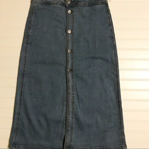 Project Indigo Denim Skirt