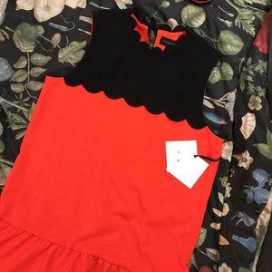 NWT Victoria Beckham Target Mod Drop Waist Dress