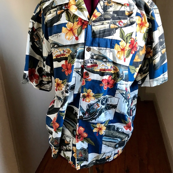 5ed3848a2727bb Kalaheo Shirts | Hawaiian Shirt Airplanes Bombers Ww Ii | Poshmark