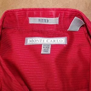 Monte Carlo Shirts - Dress Shirt Monte Carlo Fitted