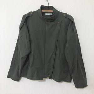 BP Nordstrom Boyfriend Green Utility Jacket