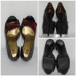 Speed Limit 98 Shoes - SPEED LIMIT 98, Bow Peep Toe Platform, size 7 M