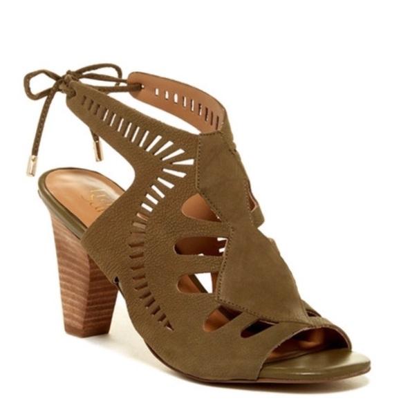6738e4aa35c6 NIB Franco Sarto Carolina Cutout Sandal size 10