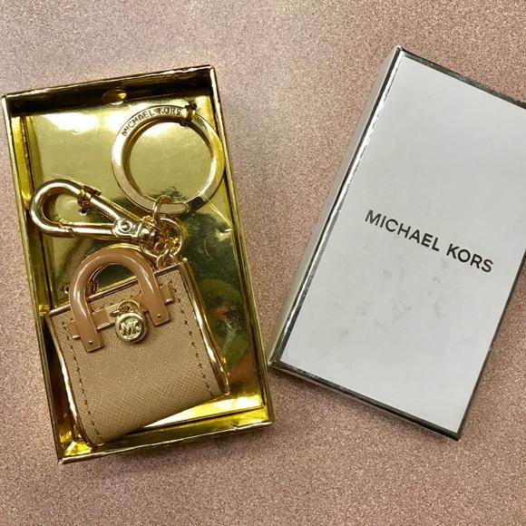 b2e8015d3758 Michael Kors Accessories | Hamilton Key Chain Fob Camel Charm | Poshmark