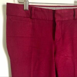 Banana Republic Pants - Banana Republic Burgundy Red Sloan Ankle Pants 0