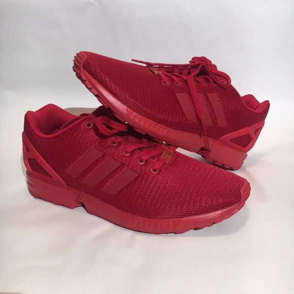 Adidas ZX Flux Torsion Tripple Red Running Shoe bf0c2103a