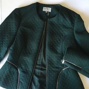 1. State first green jacket/blazer