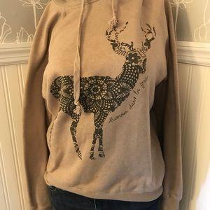 Cotton On ~ Deer Hoodie