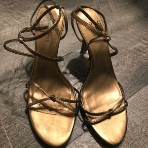 Gorgeous Gold Sandals!!!